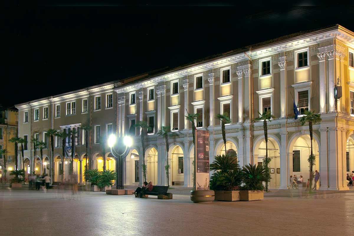 Palazzo della Magnifica Patria di notte
