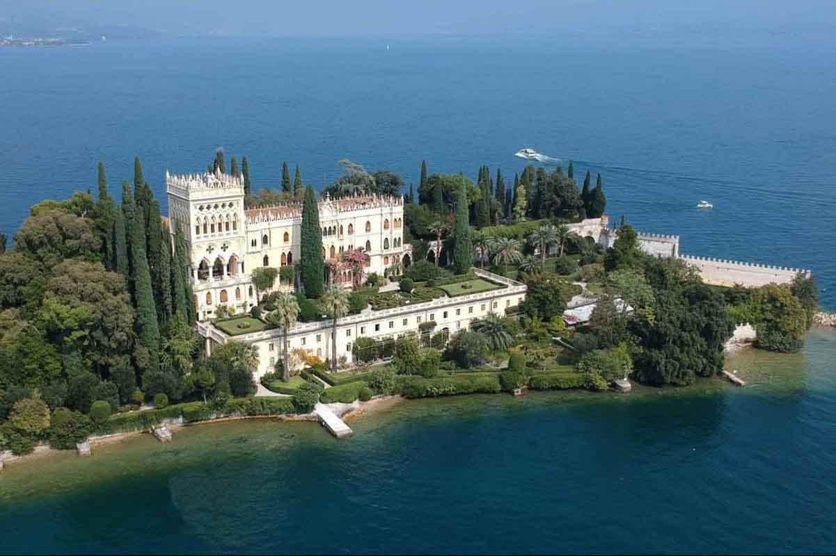 Isola di Garda Tour - Vista da Drone